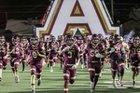 Andress Eagles Boys Varsity Football Fall 18-19 team photo.