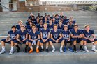 Chadwick Dolphins Boys Varsity Football Fall 18-19 team photo.
