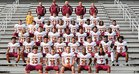 Liberty Leopards Boys Varsity Football Fall 18-19 team photo.