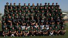Kaiser Cats Boys Varsity Football Fall 18-19 team photo.