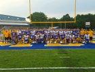 Mountain Home Bombers Boys Varsity Football Fall 18-19 team photo.