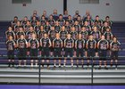 Fouke Panthers Boys Varsity Football Fall 18-19 team photo.