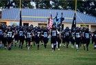 Overhills Jaguars Boys Varsity Football Fall 18-19 team photo.