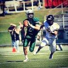 Montville Mustangs Boys Varsity Football Fall 18-19 team photo.