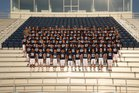 Har-Ber Wildcats Boys Varsity Football Fall 18-19 team photo.