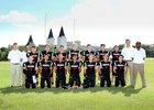 Atonement Academy Crusaders Boys Varsity Football Fall 18-19 team photo.