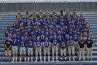 Columbus North Bulldogs Boys Varsity Football Fall 18-19 team photo.
