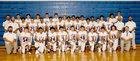 Gibbon Buffaloes Boys Varsity Football Fall 18-19 team photo.
