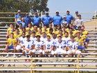 Antlers Bearcats Boys Varsity Football Fall 18-19 team photo.