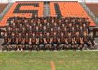 Springfield Tigers Boys Varsity Football Fall 18-19 team photo.