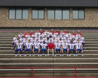 Pace Patriots Boys Varsity Football Fall 18-19 team photo.