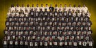 Warren Central Warriors Boys Varsity Football Fall 18-19 team photo.