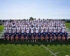 Columbine Rebels Boys Varsity Football Fall 18-19 team photo.