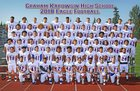 Graham-Kapowsin Eagles Boys Varsity Football Fall 18-19 team photo.