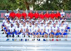 King's Academy Lions Boys Varsity Football Fall 18-19 team photo.