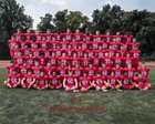 Neshaminy Redskins Boys Varsity Football Fall 18-19 team photo.