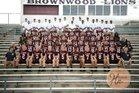 Brownwood Lions Boys Varsity Football Fall 18-19 team photo.