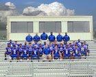 Montgomery County Eagles Boys Varsity Football Fall 18-19 team photo.