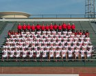 Rome Wolves Boys Varsity Football Fall 18-19 team photo.