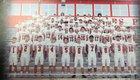 Vilonia Eagles Boys Varsity Football Fall 18-19 team photo.