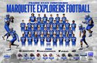 Marquette Catholic Explorers Boys Varsity Football Fall 18-19 team photo.