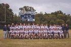 Conway Christian Eagles Boys Varsity Football Fall 18-19 team photo.