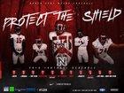 North Fort Myers Red Knights Boys Varsity Football Fall 18-19 team photo.