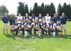 Tacoma Baptist Crusaders Boys Varsity Football Fall 18-19 team photo.