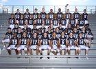 Shadow Ridge Mustangs Boys Varsity Football Fall 18-19 team photo.