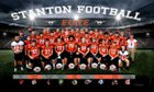 Stanton Mustangs Boys Varsity Football Fall 18-19 team photo.