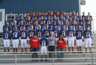 West Noble Chargers Boys Varsity Football Fall 18-19 team photo.