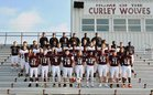 Prescott Curley Wolves Boys Varsity Football Fall 18-19 team photo.