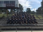 Puckett Wolves Boys Varsity Football Fall 18-19 team photo.