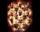 Bethany Bronchos Boys Varsity Football Fall 18-19 team photo.