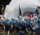 Southside Christian Sabres Boys Varsity Football Fall 18-19 team photo.