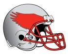 Hawken Hawks Boys Varsity Football Fall 18-19 team photo.