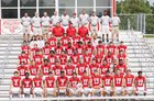 East River Falcons Boys Varsity Football Fall 18-19 team photo.