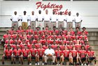 Hoke County Bucks Boys Varsity Football Fall 18-19 team photo.