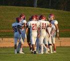 Waurika Eagles Boys Varsity Football Fall 18-19 team photo.