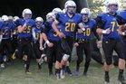 Hermon Hawks Boys Varsity Football Fall 18-19 team photo.