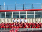 Mansfield Tigers Boys Varsity Football Fall 18-19 team photo.