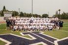 Casa Roble Rams Boys Varsity Football Fall 18-19 team photo.