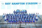 Waverly Central Tigers Boys Varsity Football Fall 18-19 team photo.