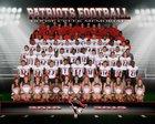 Goose Creek Memorial Patriots Boys Varsity Football Fall 18-19 team photo.
