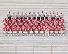 Arkansas Razorbacks Boys Varsity Football Fall 18-19 team photo.
