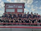Newark Valley Cardinals Boys Varsity Football Fall 18-19 team photo.