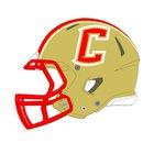 Centennial Golden Hawks Boys Varsity Football Fall 18-19 team photo.