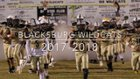 Blacksburg Wildcats Boys Varsity Football Fall 18-19 team photo.