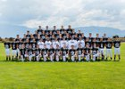 Volcano Vista Hawks Boys Varsity Football Fall 18-19 team photo.