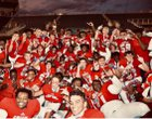 Cardinal Gibbons Chiefs Boys Varsity Football Fall 18-19 team photo.